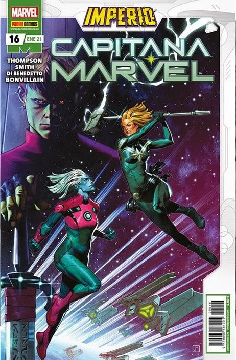 CAPITANA MARVEL 16 | 977000556100400016 | SMITH,CORY - MANNA,FRANCESCO - THOMPSON,KELLY