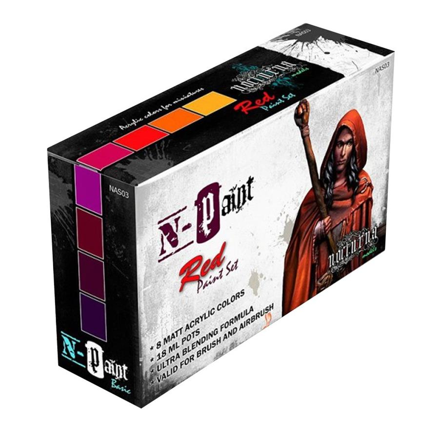N-PAINT RED SET (8) | 7427040732693