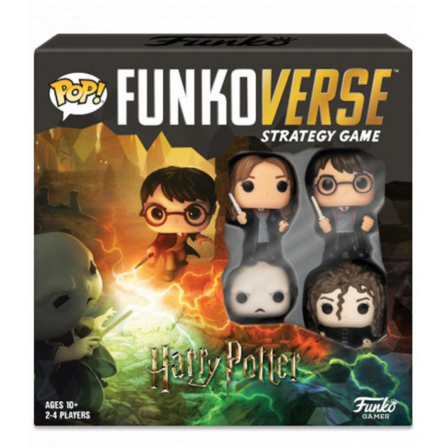 POP FUNKOVERSE STRATEGY GAME - HARRY POTTER - 4 FIGURAS | 889698434782