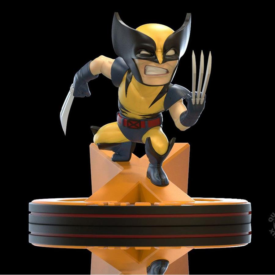 MARVEL 80TH DIORAMA Q-FIG WOLVERINE (X-MEN) 11 CM | 812095024645